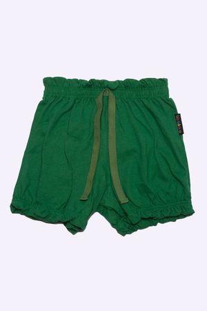 short-fem-meia-malha-verde-bandeira-M