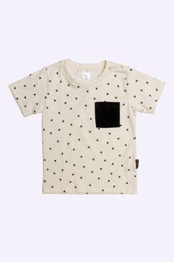 t-shirt-infantil-manga-curta-triangulo-cru
