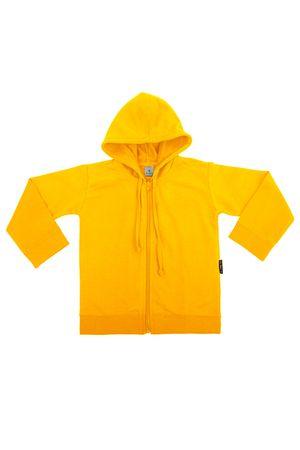 casaco-capuz-malhao-infantil-amarelo